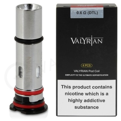 Uwell Valyrian Pod Replacement Coils