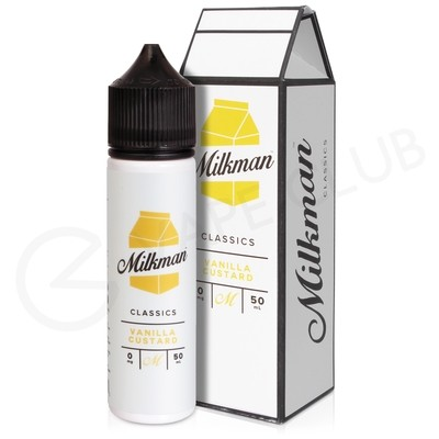 Vanilla Custard Shortfill E-Liquid by The Milkman 50ml