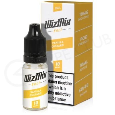 Vanilla Custard Nic Salt E-liquid by Wizmix