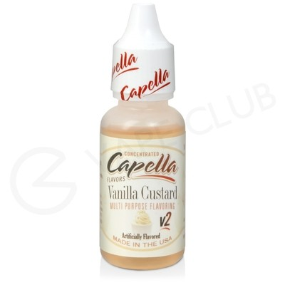 Vanilla Custard V2 Flavour Concentrate by Capella