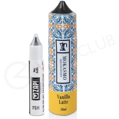 Vanilla Latte Shortfill E-Liquid by Mokasmo 50ml