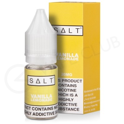 Vanilla Lemonade Nic Salt E-Liquid by Salt