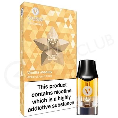 Vanilla Medley Nic Salt ePod Prefilled Pod by Vuse