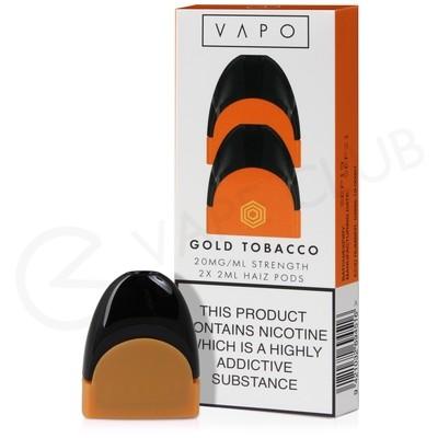 Vapo Haiz Gold Tobacco Prefilled Pod