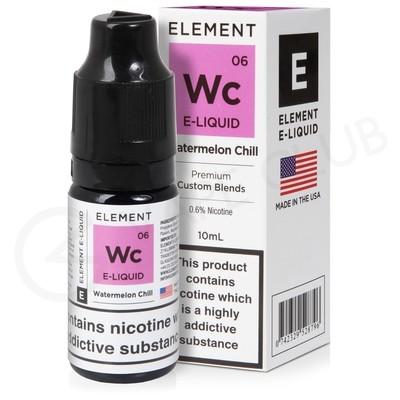 Watermelon Chill E-Liquid by Element 50/50
