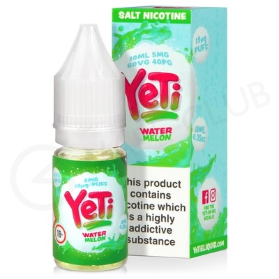 Watermelon Nic Salt E-Liquid by Yeti