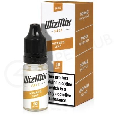 Wizards Leaf Nic Salt E-liquid by Wizmix