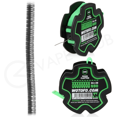 Wotofo Fused Clapton 20ft Wire Reel