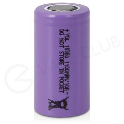 YDL 18350 Rechargeable Vape Battery (1100mAh 9A)