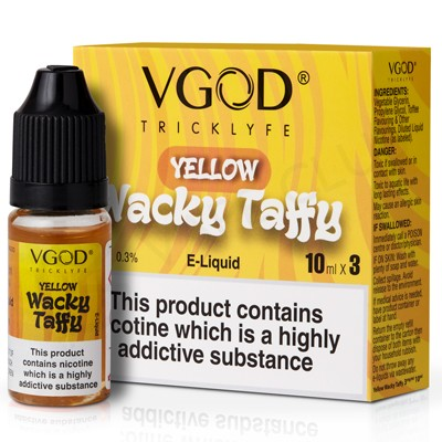 Yellow Taffy eLiquid by VGod