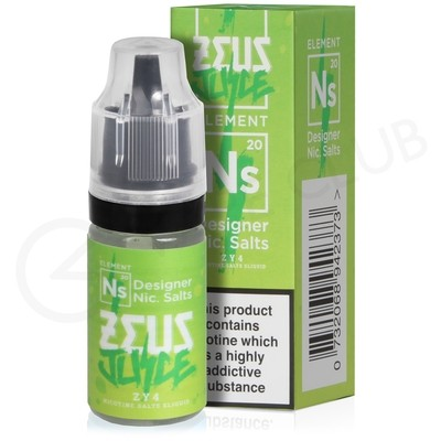 NS20 ZY4 Nic Salt eLiquid by Zeus Juice